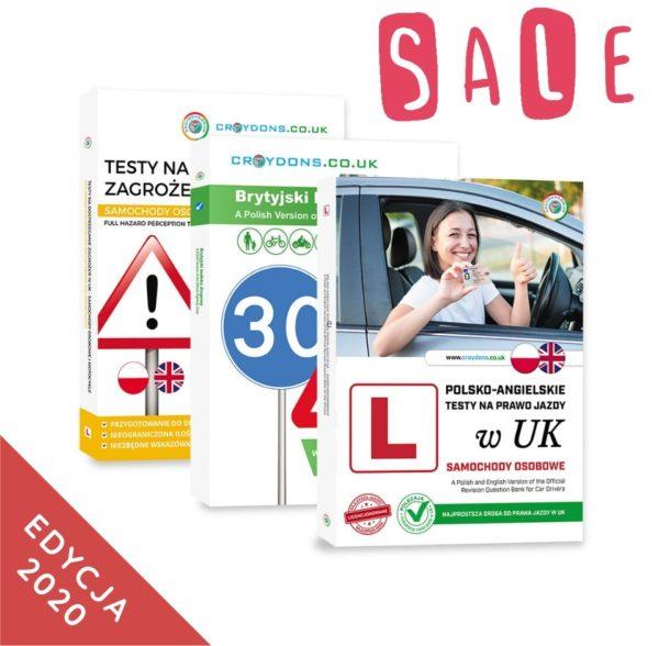 Pakiet podstawowy kat. B na prawo jazdy w UK