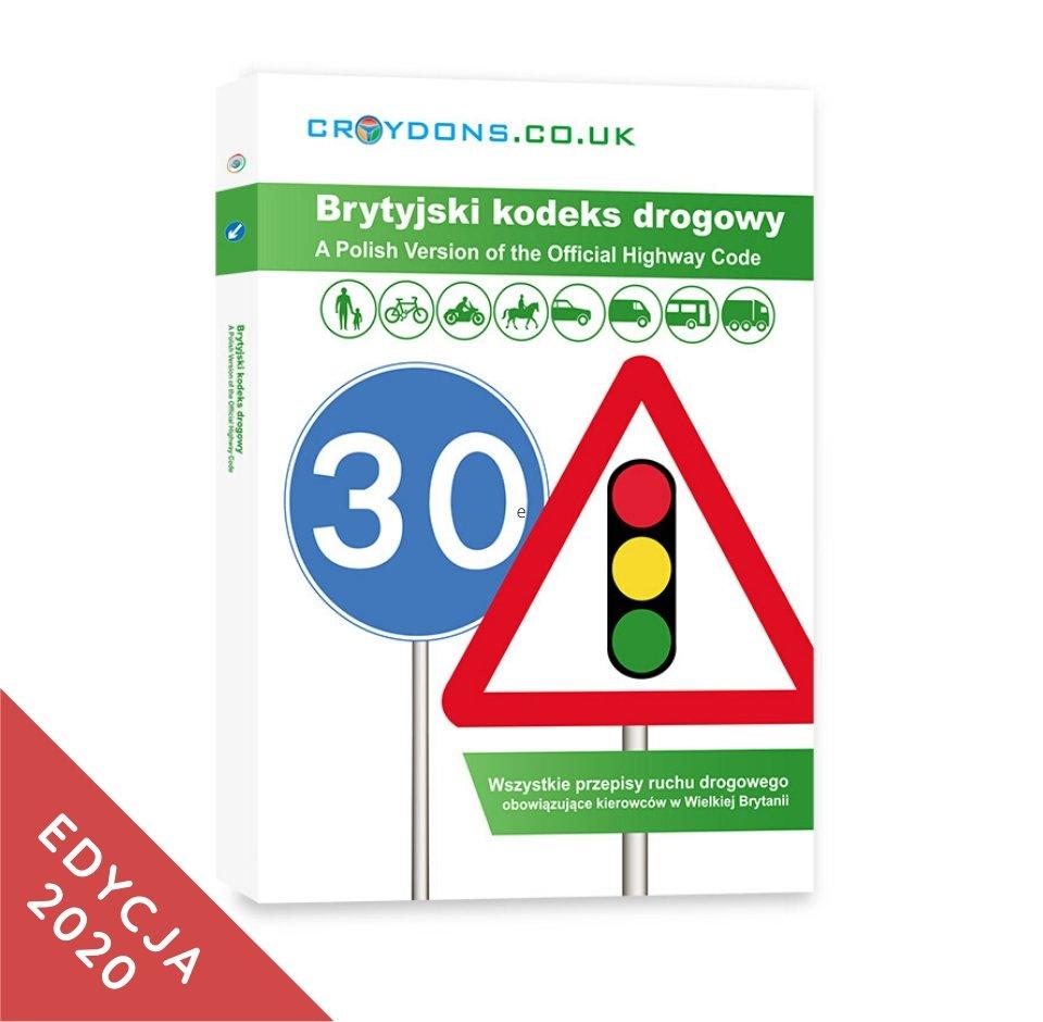 Kodeks drogowy na zdobycie prawka w UK po polsku