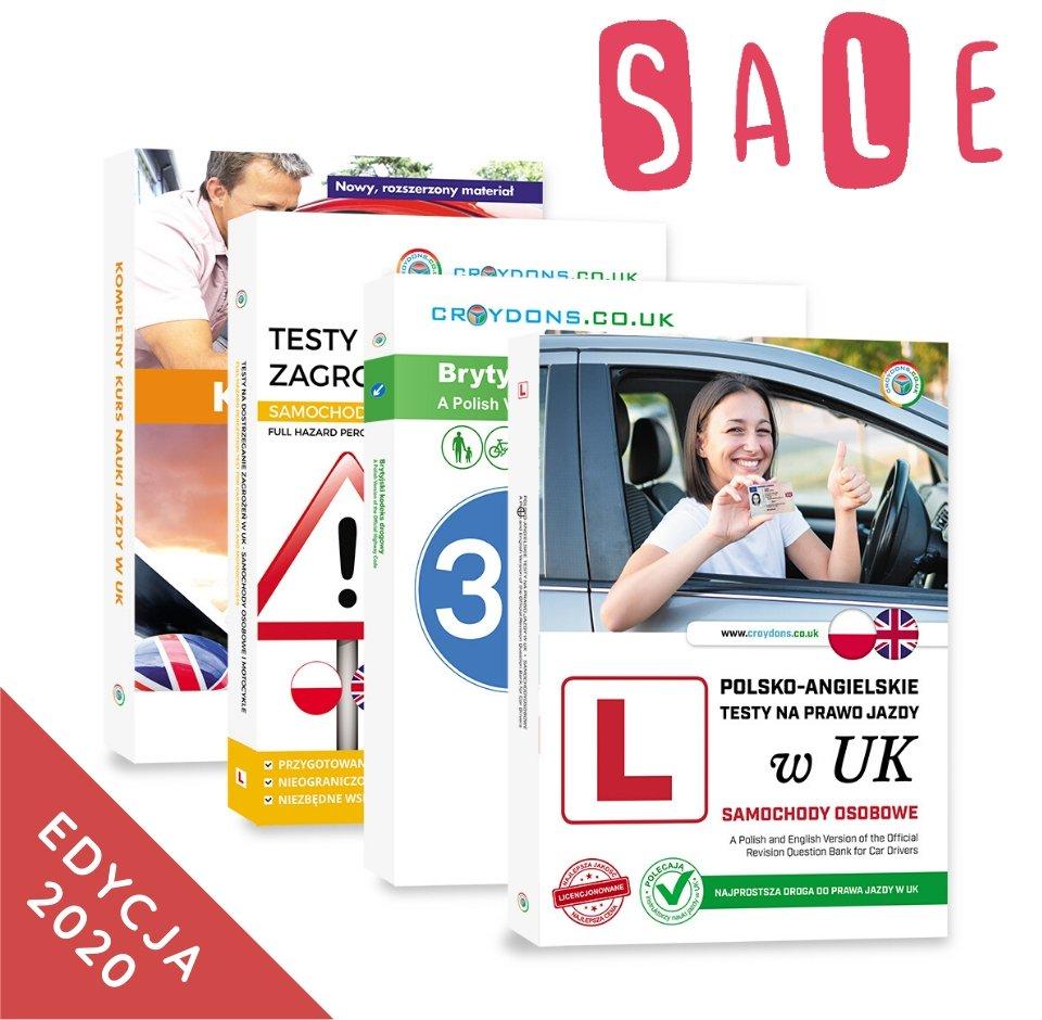 Pakiet premium kat. B na prawo jazdy w UK