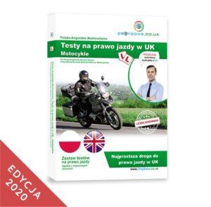 Testy na motocykle kat. A na prawo jazdy w UK