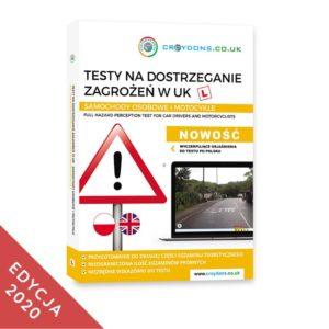 Testy na dostrzeganie zagrożen kat. B na prawo jazdy w UK