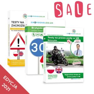 Testy na prawo jazdy w UK 1