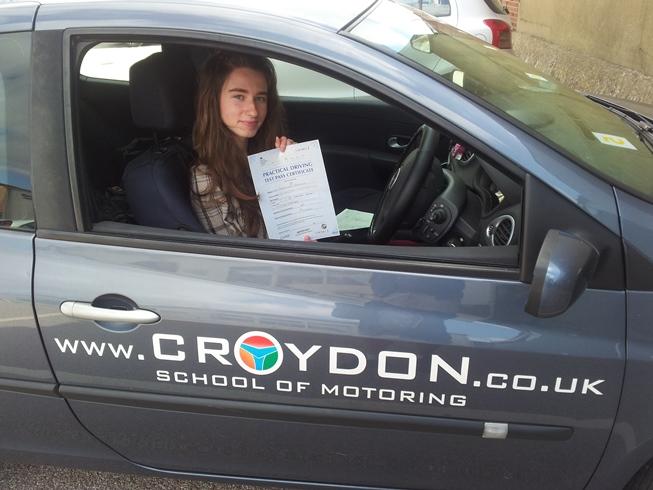 Prawko w UK zdobyte z Croydons