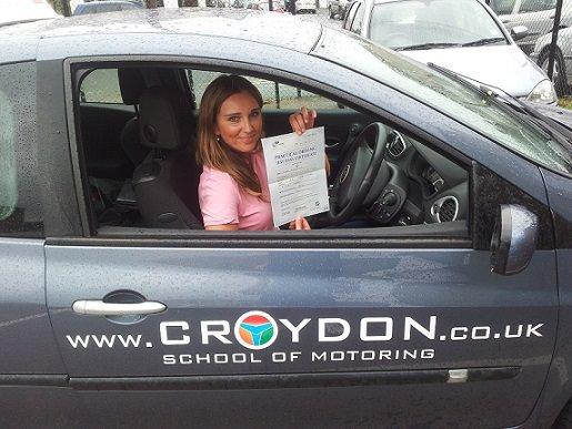 Beata i jej nauka jazdy z Croydons