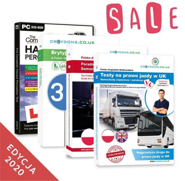 Pakiet prremium kat. C na prawo jazdy w UK