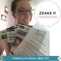 Daria i komplet z testami i kodeksem po polsku