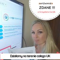 Magda ze swoim pakietem online do materiałów Croydons