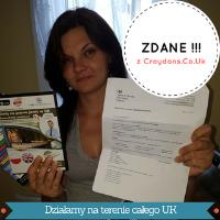 Magda z testami na prawo juz w UK po polsku