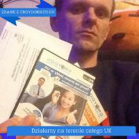 Tomasz po testach w UK