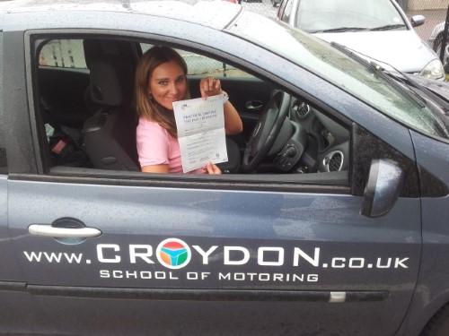 Beata zaliczyła część egzaminu z jazdy w Wielkiej Brytanii